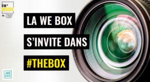 la WE box s'invite dans #TheBox