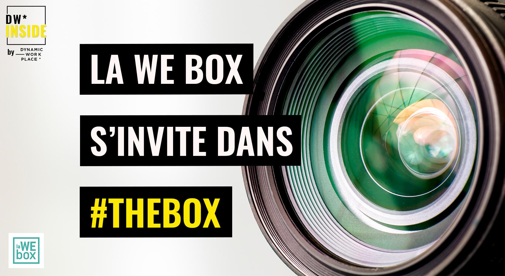 la WE box s'invite dans #TheBox by DW* INSIDE